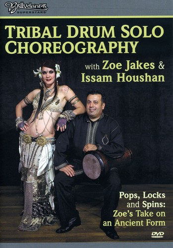 Tribal Drum Solo Choreography with Zoe & Issam