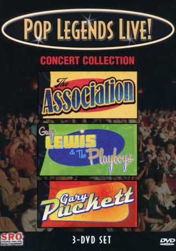 Pop Legends Live!: Concert Collection