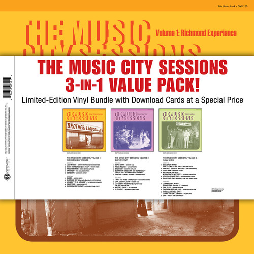 Music City Sessions 3-In-1 Value Pack