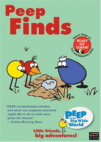 Peep and the Big Wide World: Peep Finds
