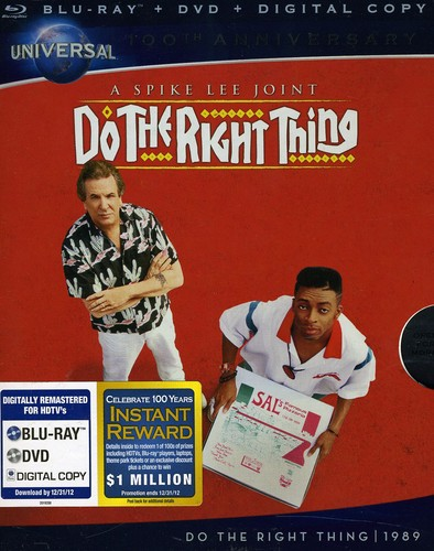 Do The Right Thing [WS] [Blu-ray/ DVD/ Digital Copy] [Slip Sleeve]