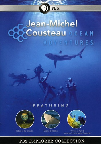 PBS Explorer Collection: Ocean Adventures With Jean Michel Cousteau