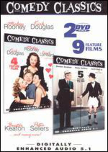 Comedy Classics, Vol. 3 [2 Discs] [B&W] [Color] [Slim]