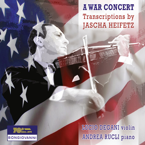 War Concert-Transcriptions By Jascha Heifetz