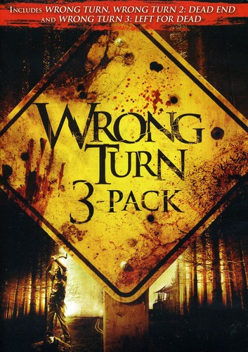 Wrong Turn DVD 3 Pack [Widescreen] [Full Frame]