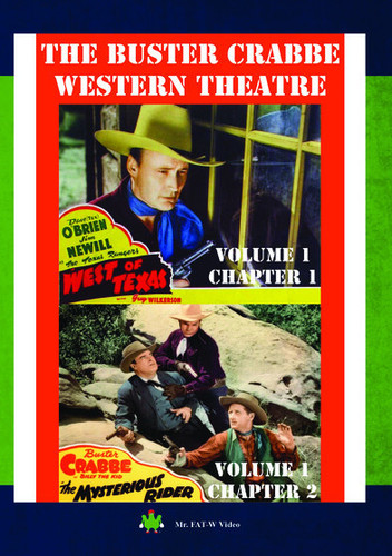 Buster Crabbe Western Theatre Vol 1