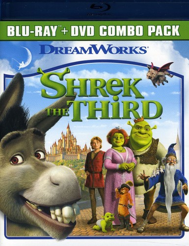 Shrek The Third [Widescreen] [Blu-ray/ DVD Combo] [O-Sleeve] [2 Discs]