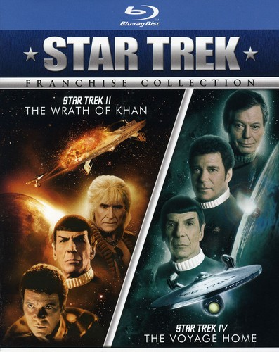 Star Trek II: Wrath Khan & Star Trek Iv: Voyage