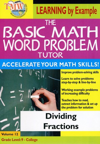 Basic Math Word Problms: Dividing Fractions