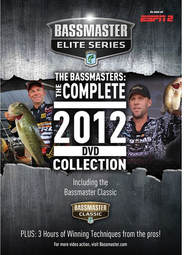 The Bassmasters: The Complete 2012 Dvd Collection