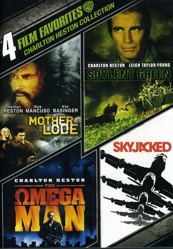 4 Film Favorites: Charlton Heston Collection