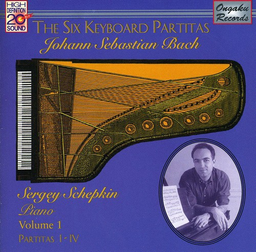 J.S. Bach: Six Keyboard Partitas 1