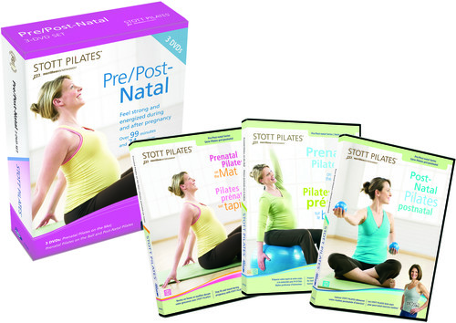Stott Pilates: Pre/ Post Natal 3 Dvd Set, Eng/ Fr