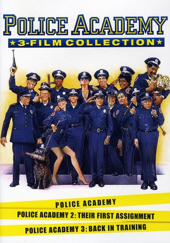 Police Academy 1-3 Collection [2 Discs] [Widescreen]