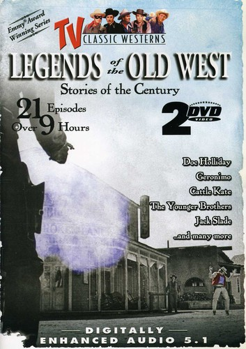 Legends Of The Old West, Vol. 1 [2 DVD Slimline 21 Episodes]