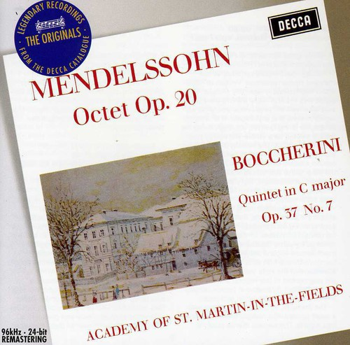 Mednelssohn: Oct for Strings /  Quintet in C Majr