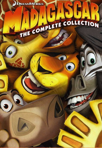 Madagascar: Complete Collection (1-3)