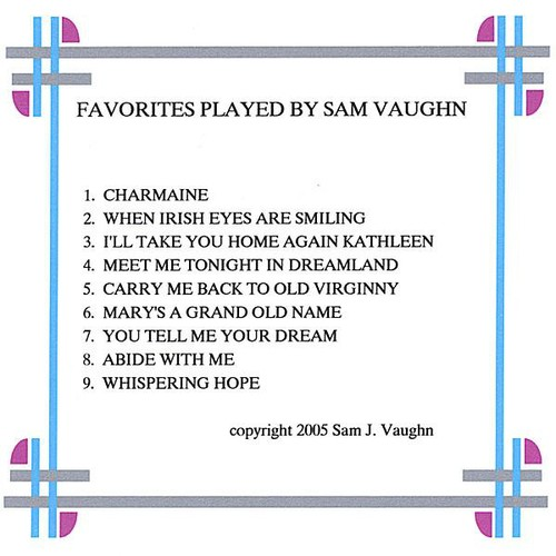 Favorites Played By Sam Vaughn