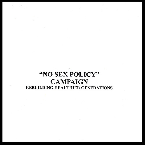 No Sex Policy