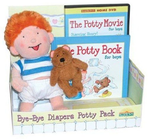Potty Movie Package - Boys [With Book] [With Doll]