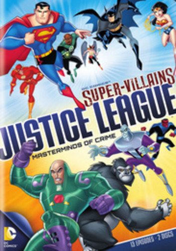 DC Super Villains Justice League: Masterminds Of Crime