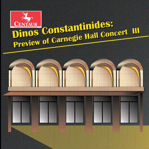 Dinos Constantinides: Preview Of Carnegie Hall