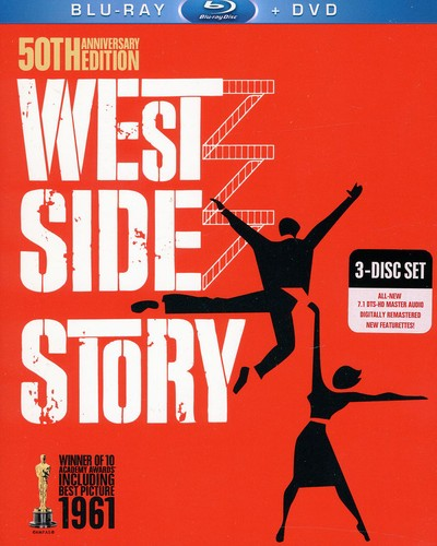 West Side Story [50th Anniversary] [WS] [Blu-ray/ DVD Combo]