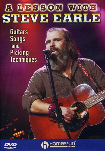 Steve Earle: Guitars Songs Picking Techniques