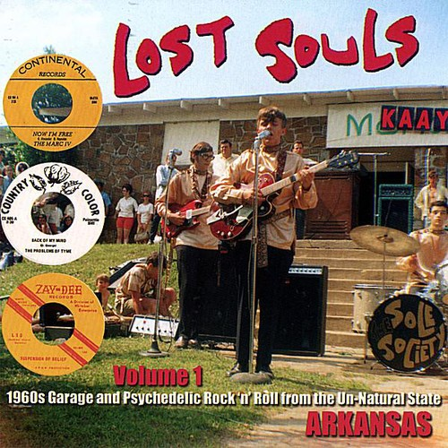 Lost Souls 1: 1960s Garage & Psychedelic /  Various