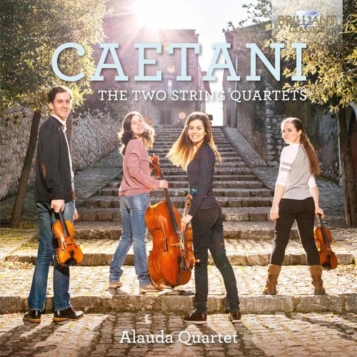 Caetani: Two String Quartets
