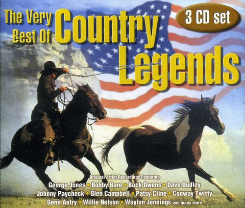 Very Best of Country Legends /  Various