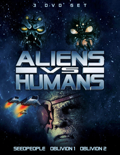 Aliens vs. Humans: 3 DVD Set