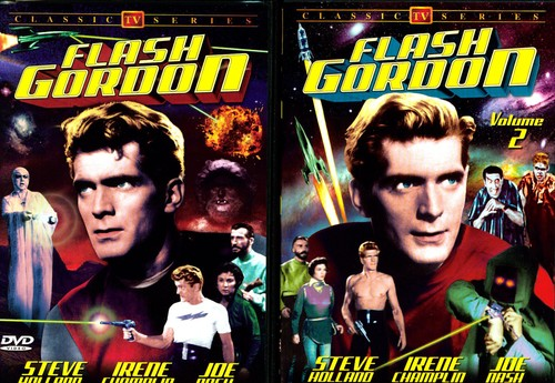 Flash Gordon, Vol. 1 and 2 [Black and White]