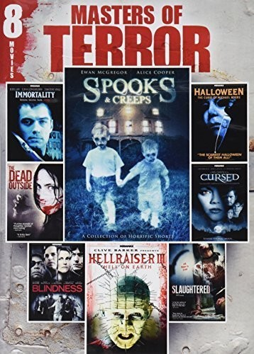 Masters Of Terror, Vol. 2: 8-Film