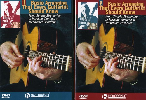 Guitar Method: Basic Arranging Techniques That Every Guitarist Should Know, Vol. 1 and 2
