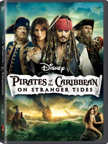 Pirates Of The Caribbean: On Stranger Tides [WS] [Blu-ray/ DVD Combo] [O-Sleeve]