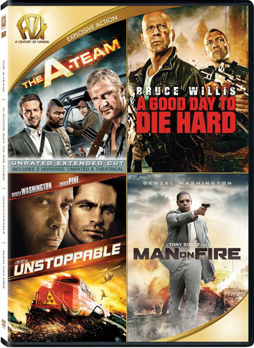 The A-Team /  A Good Day to Die Hard /  Unstoppable /  Man on Fire