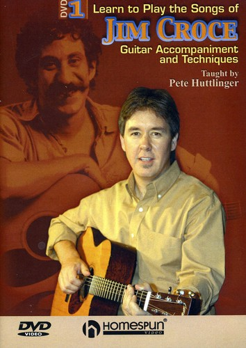 Learn to Play the Songs of Jim Croce 1 & 2