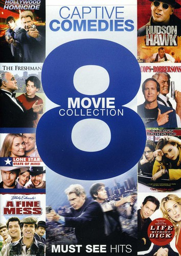 8 Movie Collection: Captive Comedies