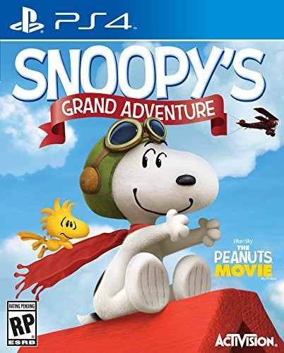 Peanuts Movie: Snoopy's Grand Adventure for PlayStation 4