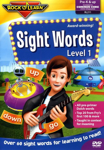 Rock N Learn: Sight Words Level 1