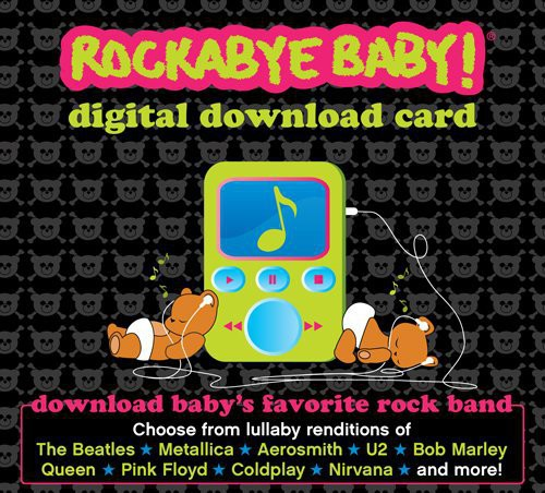 Digital Download Card Gift Package [Download Card] [Baby Food Recipe][Temporary Tattoos] [Paper Dolls and More!]