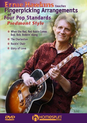 Teaches Fingerpicking Arrangements of Four Pop Standards