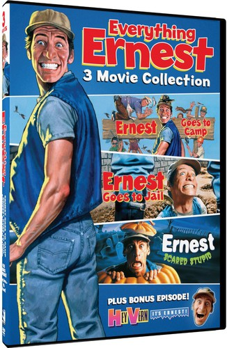 Everything Ernest: 3 Feature Films /  Bonus Episode