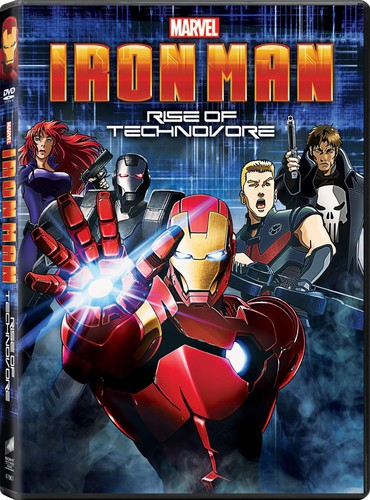 Iron Man: Rise of the Technovore