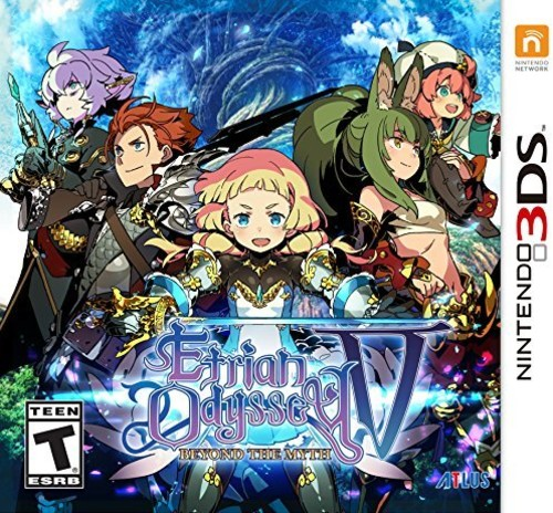 Etrian Odyssey V: Beyond the Myth for Nintedo 3DS