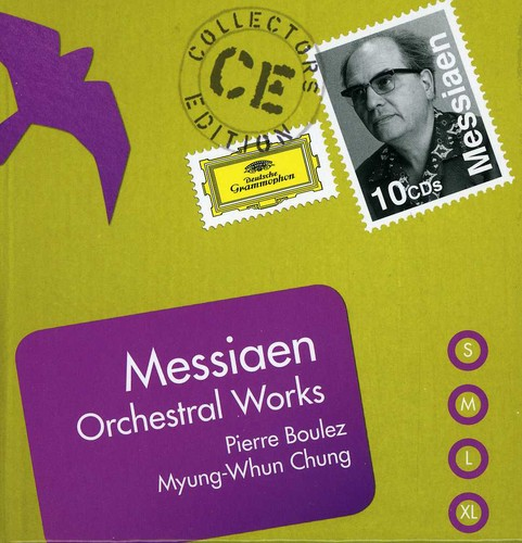 Coll Ed: Messiaen Orchestral Works