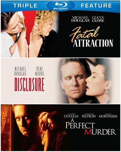 Michael Douglas: Triple Feature