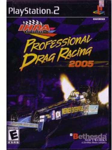 IHRA Professional Drag Racing 2005 for PlayStation 2