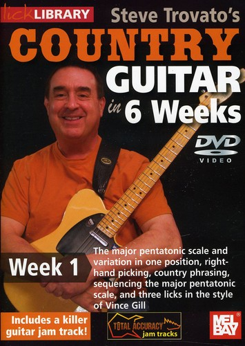 Steve Trovato's Country Guitar in 6 Weeks: Week 1